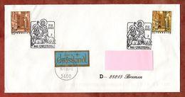 Brief, Schoenlaterngasse Wien, Ueber Christkindl, Hallein Nach Bremen 2003 (88493) - 2001-10 Storia Postale