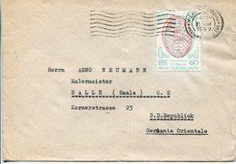 Italia (1957) - Busta Da Milano Per La Germania - 6. 1946-.. Repubblica