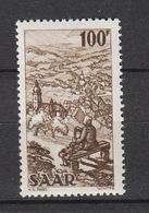 Deutschland Saargebiet Alliierte Besetzung 1947-1956 **  288 Bliestal Mit  Wiebelskirchen Katalog  13,00 - 1947-56 Gealieerde Bezetting
