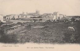 CPA  13  LES SAINTES MARIES DE LA MER VUE GENERALE CAMPEMENT DE GITANS   LACOUR - Saintes Maries De La Mer
