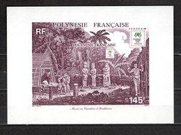 POLYNESIE   BLOC N°  14  NEUF SANS CHARNIERE COTE  5.50€  EXPOSITION PHILATELIQUE - Blokken & Velletjes