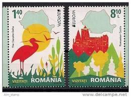 2012 Romania  Rumänien Mi. 6617-8 **MNH  Europa - 2012