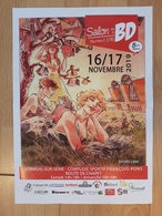 Affiche RICOSSE Julie Festival BD Verneuil 2019 (Morocco Jazz - Manifesti & Offsets