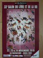 Affiche MONIN Arno Festival BD Creil 2019 (L'adoption) - Manifesti & Offsets