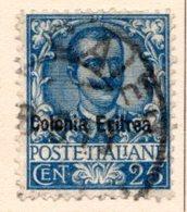 ERYTHREE (Colonie Italienne) - 1903-22 - N° 24 - 25 C. Bleu - (Timbre D'Italie De 1901) - Eritrea