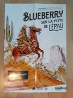 Affiche BLAIN Christophe Exposition Blueberry Abbaye De L'Epau 2019 (Sfar Giraud Charlier - Manifesti & Offsets