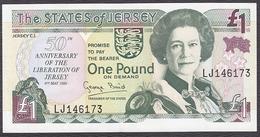 BILLET JERSEY  1 POUND  50 ANNIVERSAIRE - Jersey
