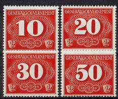 Generalgouvernement 1940 // Mi. 1/4 * Zustellungsmarken - Occupation 1938-45