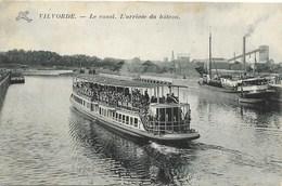Vilvorde NA31: Le Canal. L'arrivée Du Bâteau - Vilvoorde
