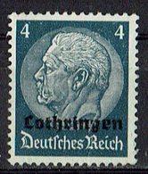 Lothringen 1940 // Mi. 2 (*) - Occupation 1938-45