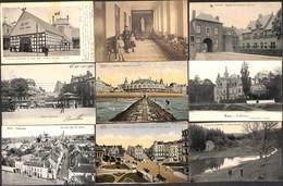Belgique - Très Belle Sélection 40 Cartes (animée, Marco Desaix Sugg Train En Gare... Voir Zie Scans) (Lot S002) - Cartes Postales