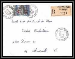 4502 Lettre Recommandé Bouches Du Rhone Port-Saint-Louis-du-Rhone N°1506 Château Castle De Val Marseille 19 - 1961-....