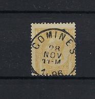 N°50 GESTEMPELD Comines 1896 COBA € 5,00 SUPERBE - 1884-1891 Leopold II.