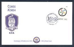 Korea 2004 Cover: Football Fussball Soccer Calcio; Korean Football Association  KFA - Soccer