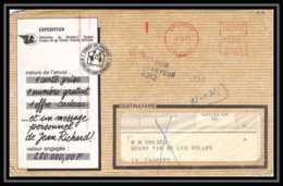 4906 Lettre Cover Bouches Du Rhone Cabriès 1972 Retour à L'envoyeur 8312 Carte Grise Provisoire - Marcofilia (sobres)