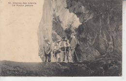 Chaine De Aravis - La Roche Percée - Frankreich