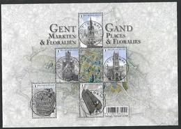 OCB Nr 4581/85  BL234 Blok 234 Gent Gand Floralien Floralies Flora - Centrale Stempel - Oblitérés