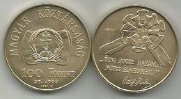 Hungary 100 Forint 1998. UNC KM#726 Revolution Of 1848. - Hongrie