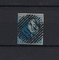 N°2 GESTEMPELD P94 Peruwelz MET 4 MARGES COB € 85,00 SUPERBE - 1849 Epaulettes