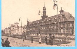 Gent (Gand)-Wereld Tentoonstelling-Exposition Universelle-1913-Pavillon Des Pays-Bas-Balance Pèse-Personne-animée - Gent