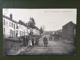 LA CHAPELLE- La Grande Rue - Francia