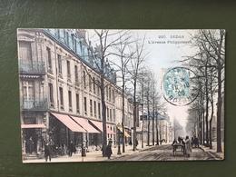 SEDAN-  L' Avenue Philippoteaux - Sedan