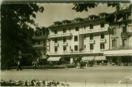 CPA FRANCE - TARBES - L'HOTEL DE LA CROIX BLANCHE - PLACE DE VERDUN - EDIT JOVE PAU. -1950s (5910) - Tarbes