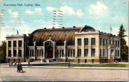 Oklahoma Guthrie Convention Hall 1910 Curteich - Guthrie
