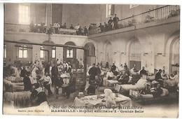SOCIETE DE SECOURS AUX BLESSES MILITIAIRES - MARSEILLE - Grande Salle - Guerra 1914-18