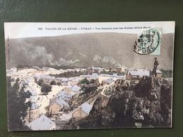 VALLEE DE LA MEUSE-FUMAY-Vue Générale Près Des Roches Diverts Monts - Fumay