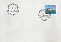 """ET Brief  """"Pro Patria - La Suisse, Lac Léman""""  (Ortsstempel)      2011 - Storia Postale"""