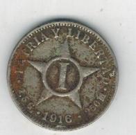 Cuba , 1 Centavo 1916 ,  Used, See Scan - Cuba