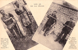 LES AS DE LA PÊCHE : BROCHET De 22 LIVRES PRIS PAR MM. JAMAIN Et LARCHER De REIMS... - LE FIL DIAMANT ~ 1930 (ad535) - Reims