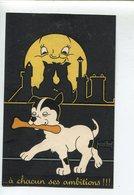Chien Lune  Illustrateur - 1900-1949
