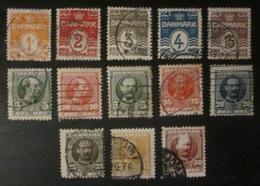 Danemark - YT 48 49 50 51 52 53 54 55 56 57 58 59 60 - Used Stamps
