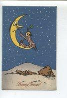 Lune  Illustrateur  MBN Bonne Année - 1900-1949