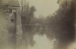 France Essonne Brunoy Moulin De Rochopt? Ancienne Photo 1892 - Antiche (ante 1900)