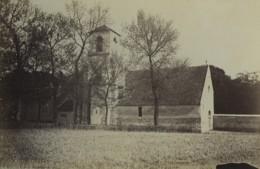 France Essonne Eglise Pres De Brunoy Ancienne Photo 1894 - Antiche (ante 1900)