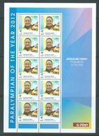 Australia 2012 Paralympian Freney Special Sheetlet Of 10 MNH - 2010-... Elizabeth II