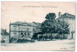 71 /  Couches Les Mines   / Place De La République / Abimée - Other Municipalities