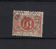 N°TX4 (ntz) GESTEMPELD Petit-Rosiere 1899 COBA € 7,50 - Revenue Stamps