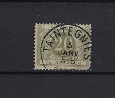 N°TX6 (ntz) GESTEMPELD Taintegnies COBA € 6,00 - Revenue Stamps
