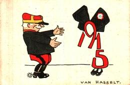 Année Date Millesime 1915 - Militaire Et Alsace, Van Hasselt - Anno Nuovo