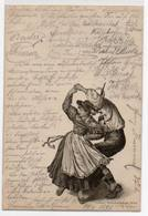1898 - Dance Ballo - Wien Tyrol Tirolo - Costumi - Folklore - Folclore - Danza