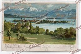 1905 - LINDAU IM BODENSEE - Zeno Diemer - Artistica Illustratore - Diemer, Zeno