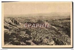 CPA Paysages Et Pierres De Provence Saint Remy De Provence Le Plateau Des Antiquites Vu Des Alpilles - Saint-Remy-de-Provence
