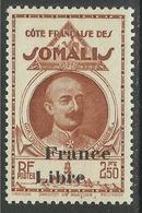 COTE FRANCAISE DES SOMALIS 1942 YT 228** - SANS CHARNIERE NI TRACE - Côte Française Des Somalis (1894-1967)