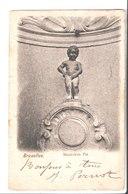 Bruxelles. Manneken Pis. De J. Pernot à Pierre Pernot Casino De Bonsecours . 1901. - Belgique