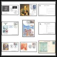 11152 Lot De 7 Lettres + Carte Maximum Bouches Du Rhone Aubagne Marseille Journée Du Timbre FDC Premier Jour - FDC