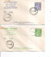 Congo Belge ( 2 FDC De 1945 à Voir) - Belgisch-Kongo